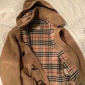 Burberry Toggle Wool Coat